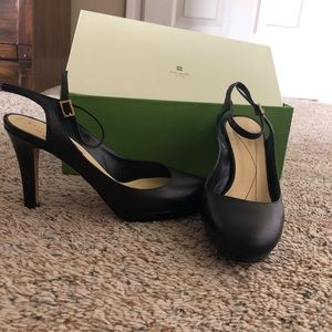 Kate Spade leather pumps